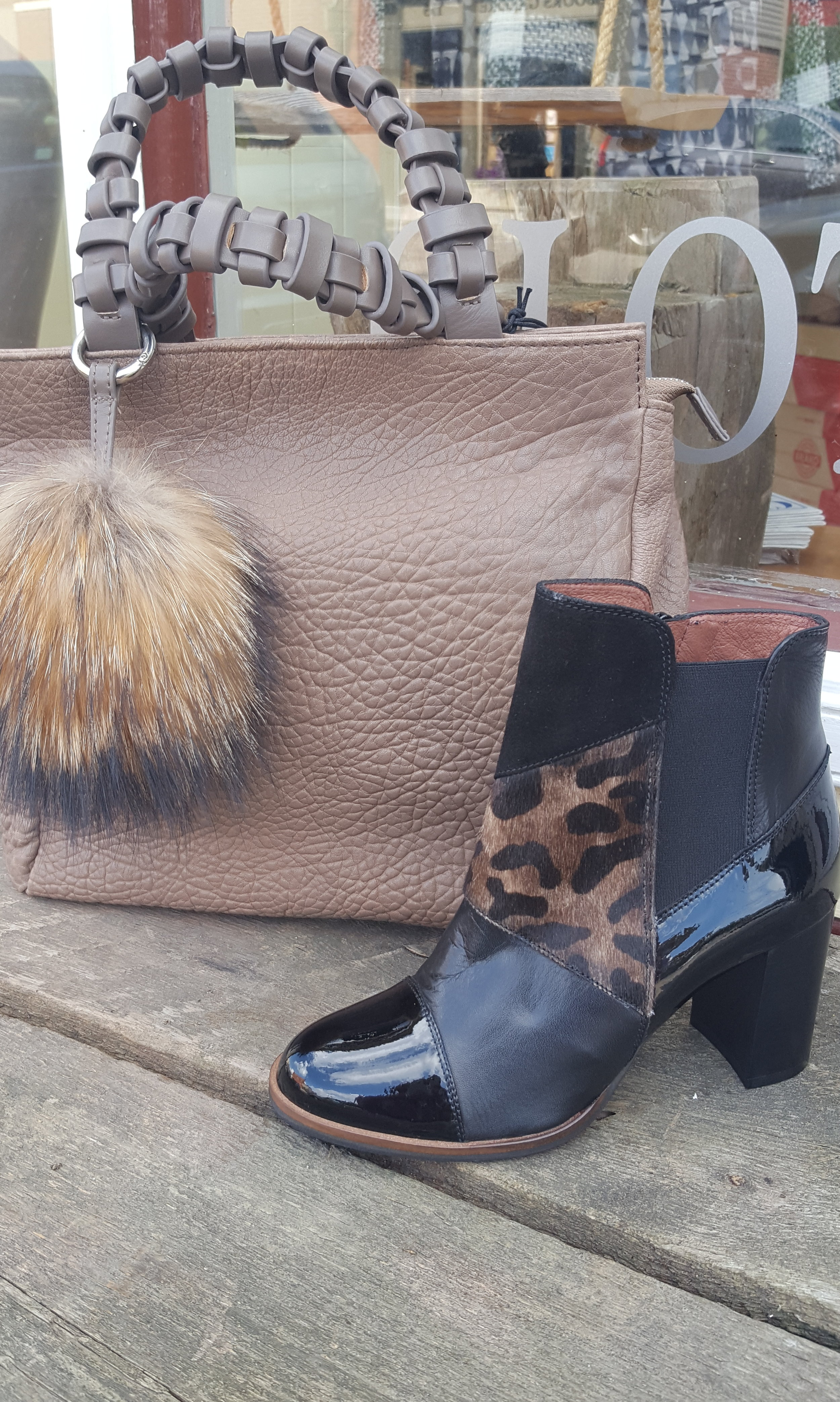 Christopher Kon handbag, Hispanics bootieB.jpg
