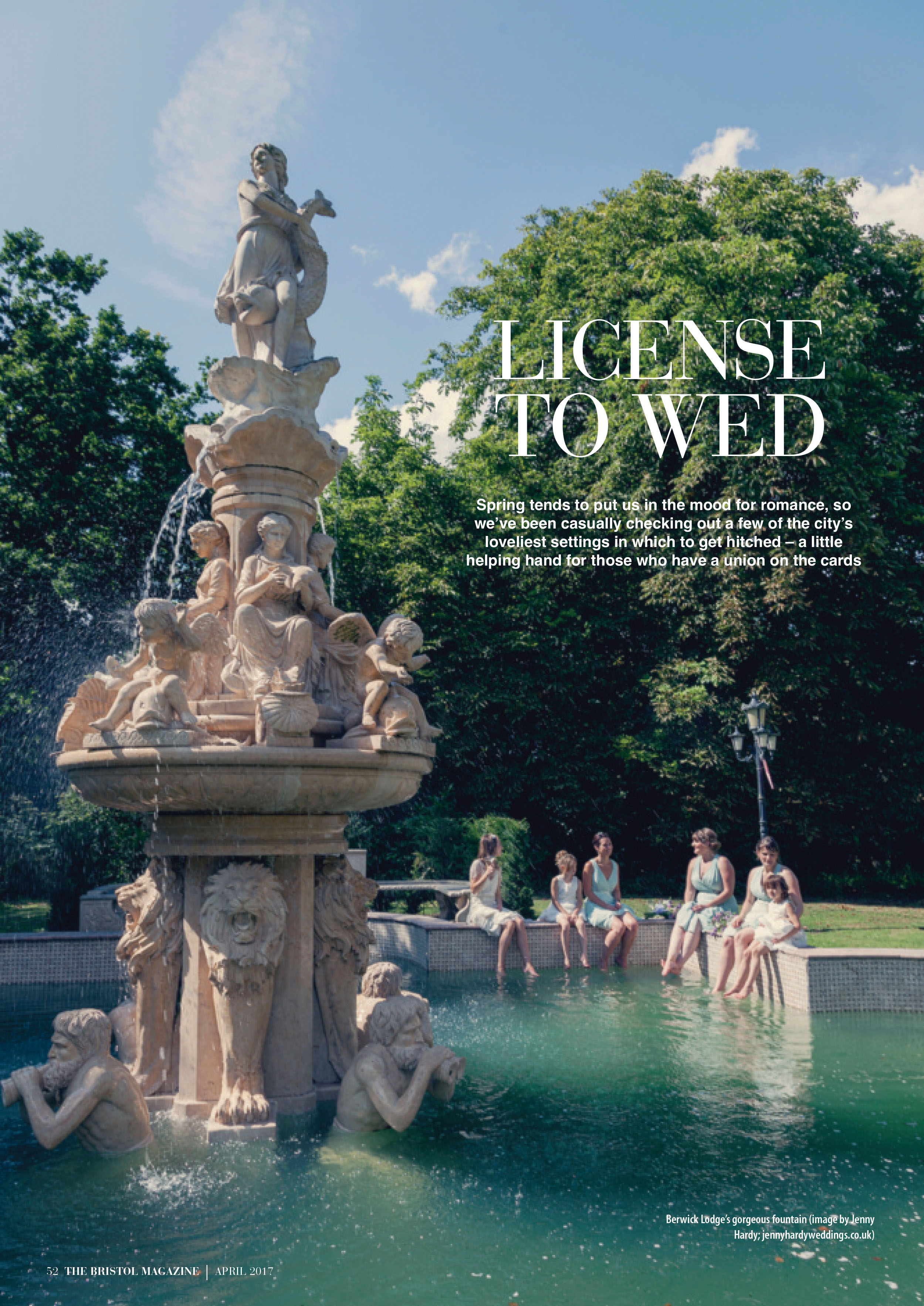 The Bristol Magazine Wedding Feature