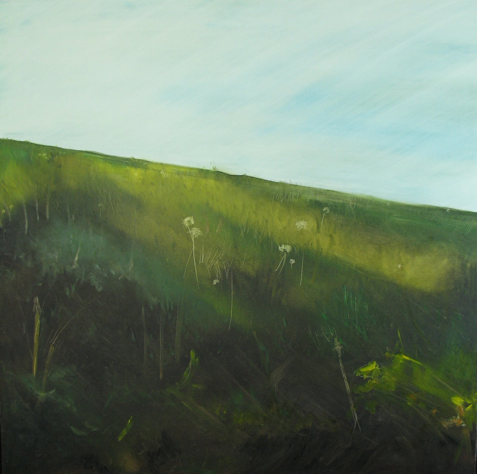 "oil on canvas. 30"" x 30"". 2005."