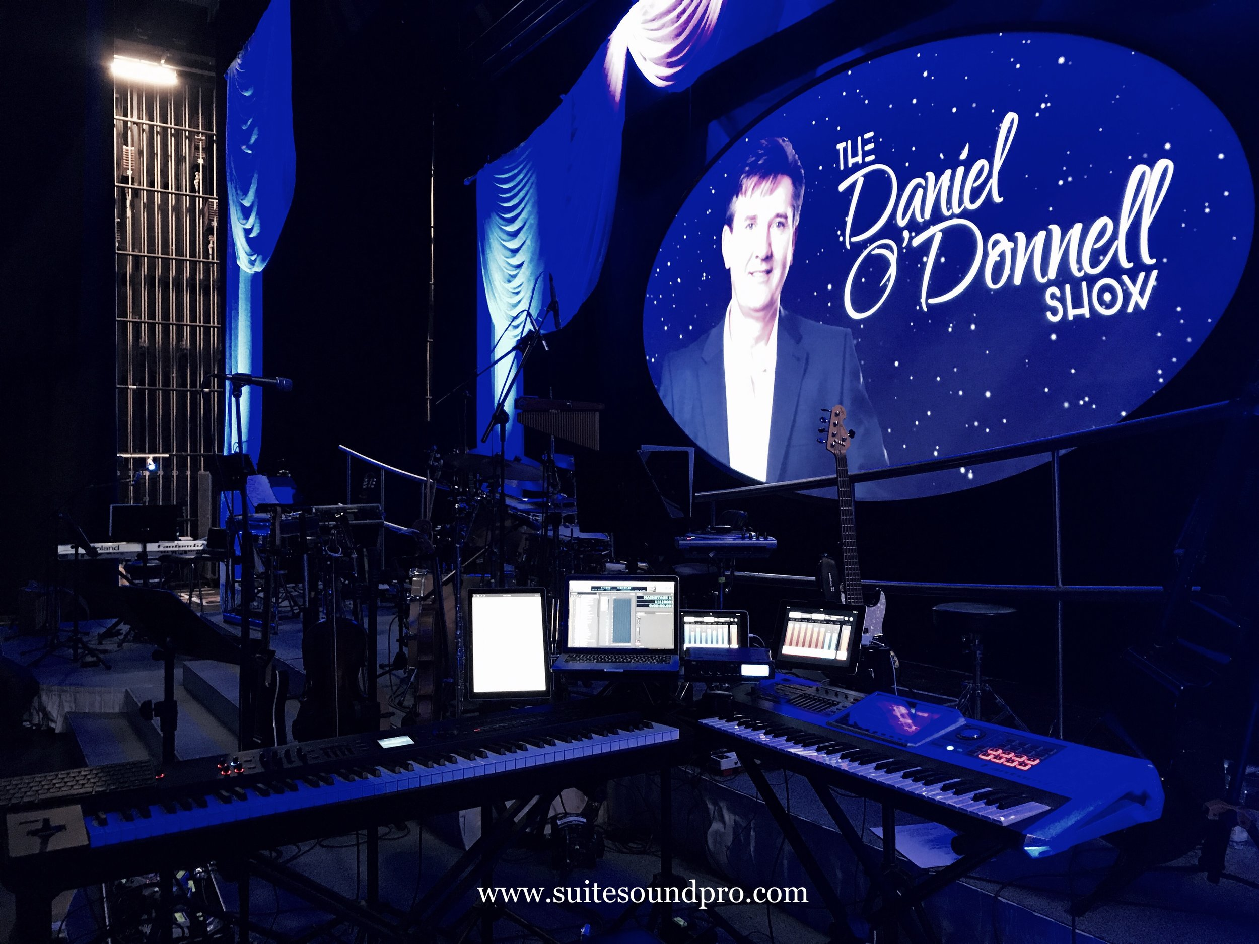 2017 Daniel O'Donnell World Tour Rig