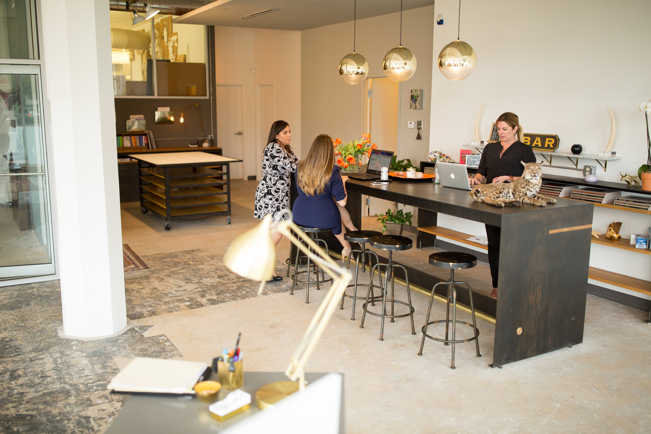 TradeCraft Advertising Agency Office Remodel at the Cadillac Lofts