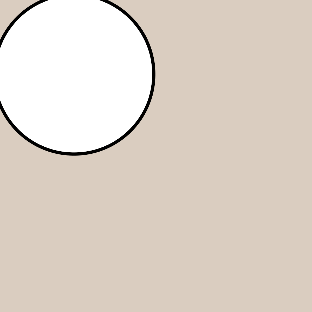 Simple zooming and panning of a circle