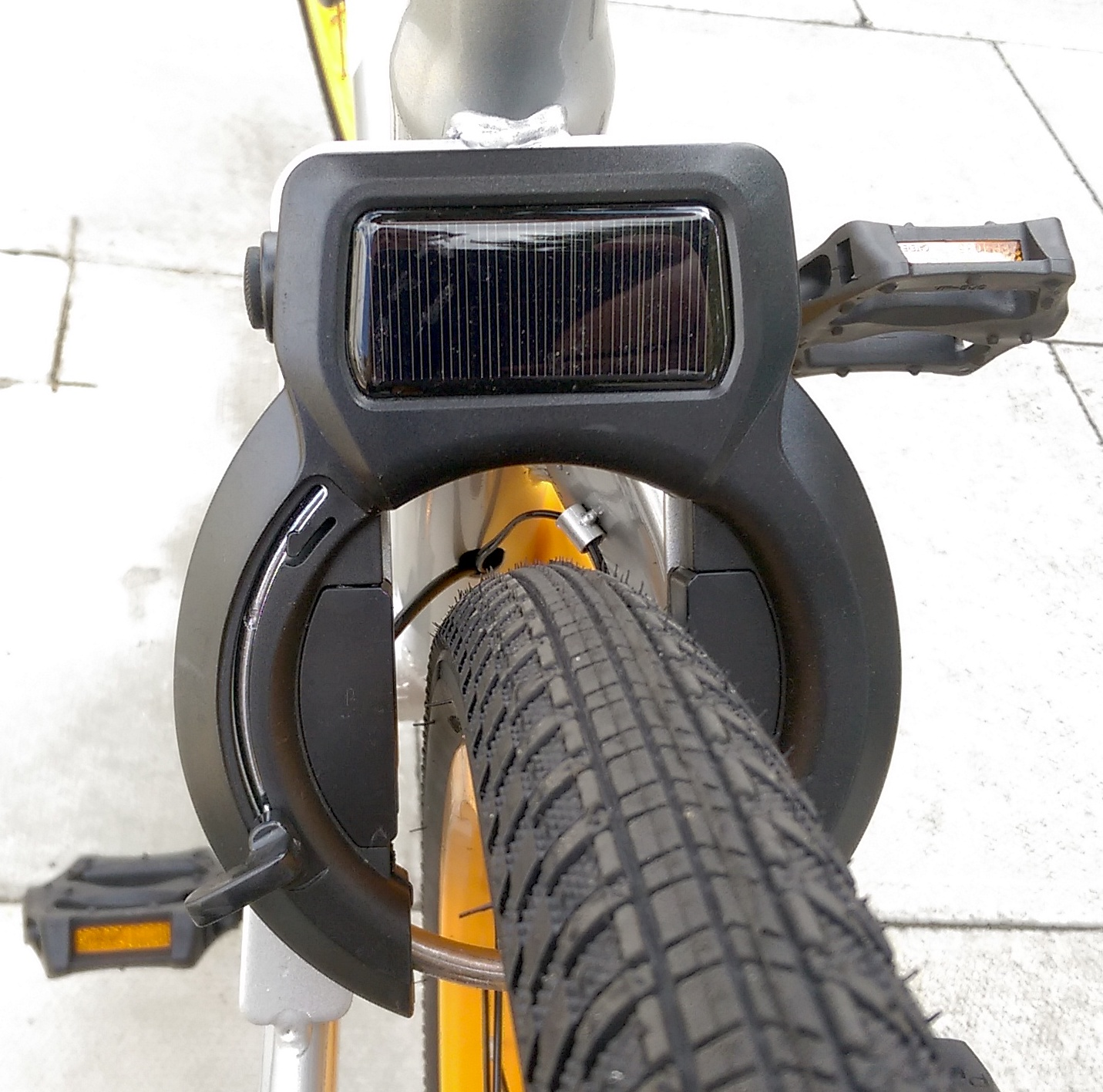- Remotely activated bike lock