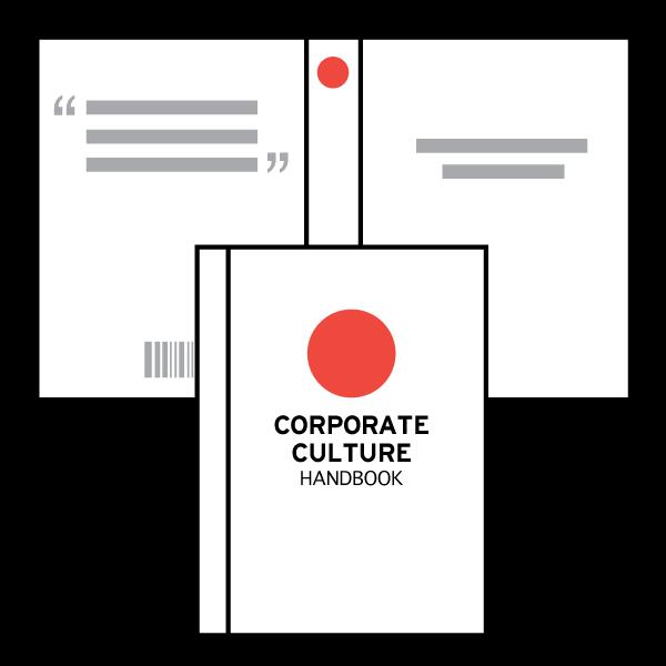 CORPORATE CULTURE / EMPLOYEE HANDBOOKS & TEXTBOOK COVERS