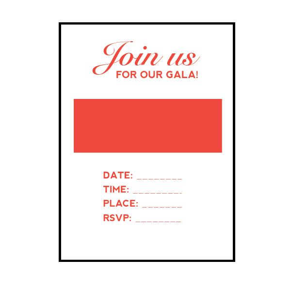 INVITATIONS / EVITES