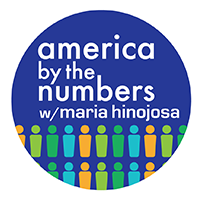 America by the numbers logo