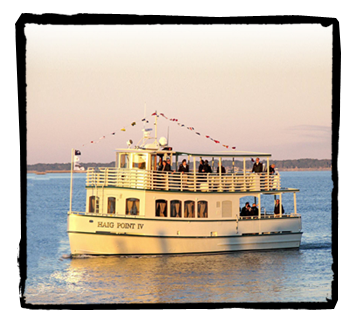 One of the private ferries serving Daufuskie Island in South Carolina, where I learned my craft.