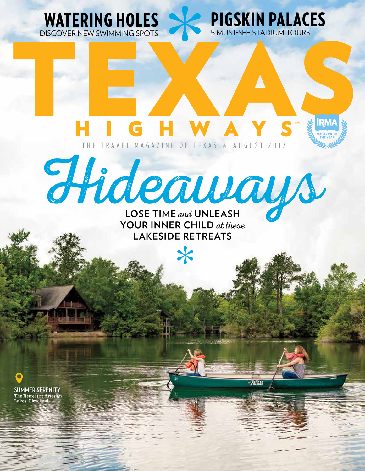 SUMMER HIDEAWAYS /TEXAS HIGHWAYS -