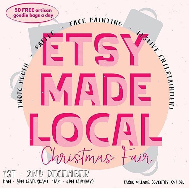 This weekend I will be setting up my little travelling shop at @fargovillagecov for the @warwickshireetsyteam @etsy Christmas market along with loads of other independent small businesses. I'll be bringing my new 'language of flowers' pressed flower necklaces as well as a few other surprise new pieces that I'm working on today.  Hopefully see some of you there. Last years market was brilliant so I'm really looking forward to this one! ❄️☃️ . . . . . . #shopsmall #campaignshopsmall #shopindependent #languageofflowers #christmasmarket #etsymarket #etsyseller #pressedflowerjewellery #messagejewellery