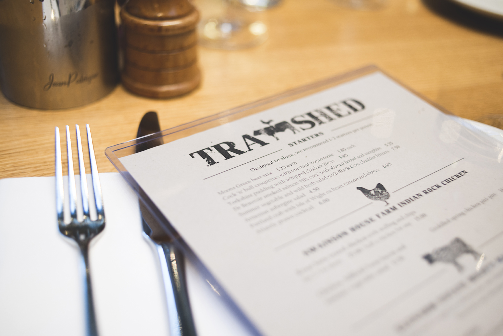 Let us know what you had to eat at The Tramshed in the comments below this blog post!