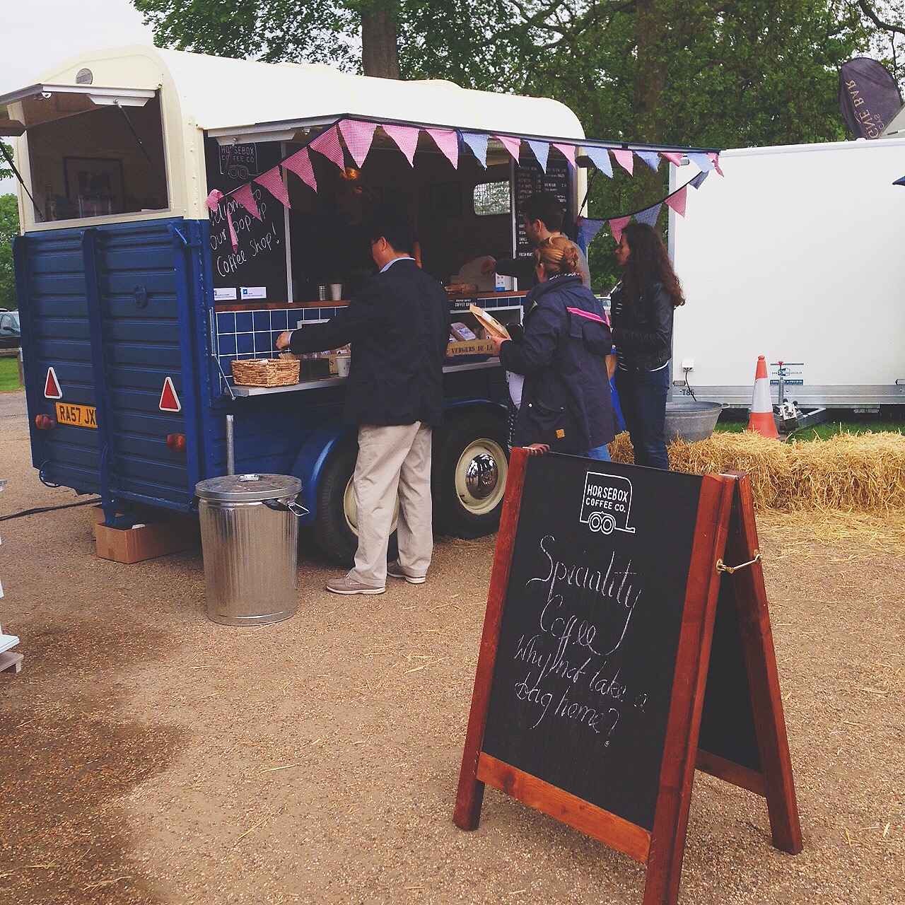 This tasty coffee kept us going over the bank holiday weekend! We hope to see  Horsebox Coffee Co.  at the next event.