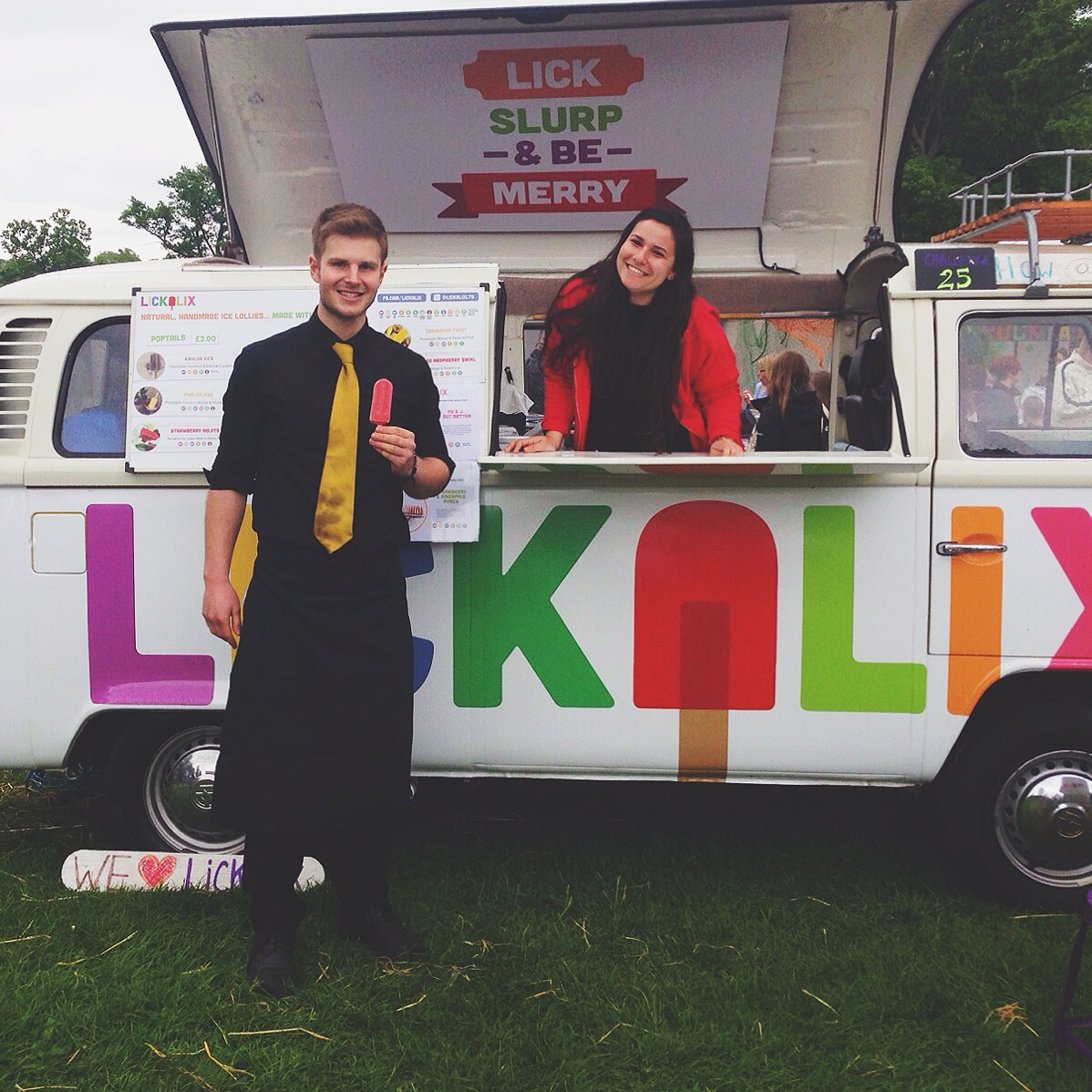 The employees at Blenheim Palace love our ice lollies!