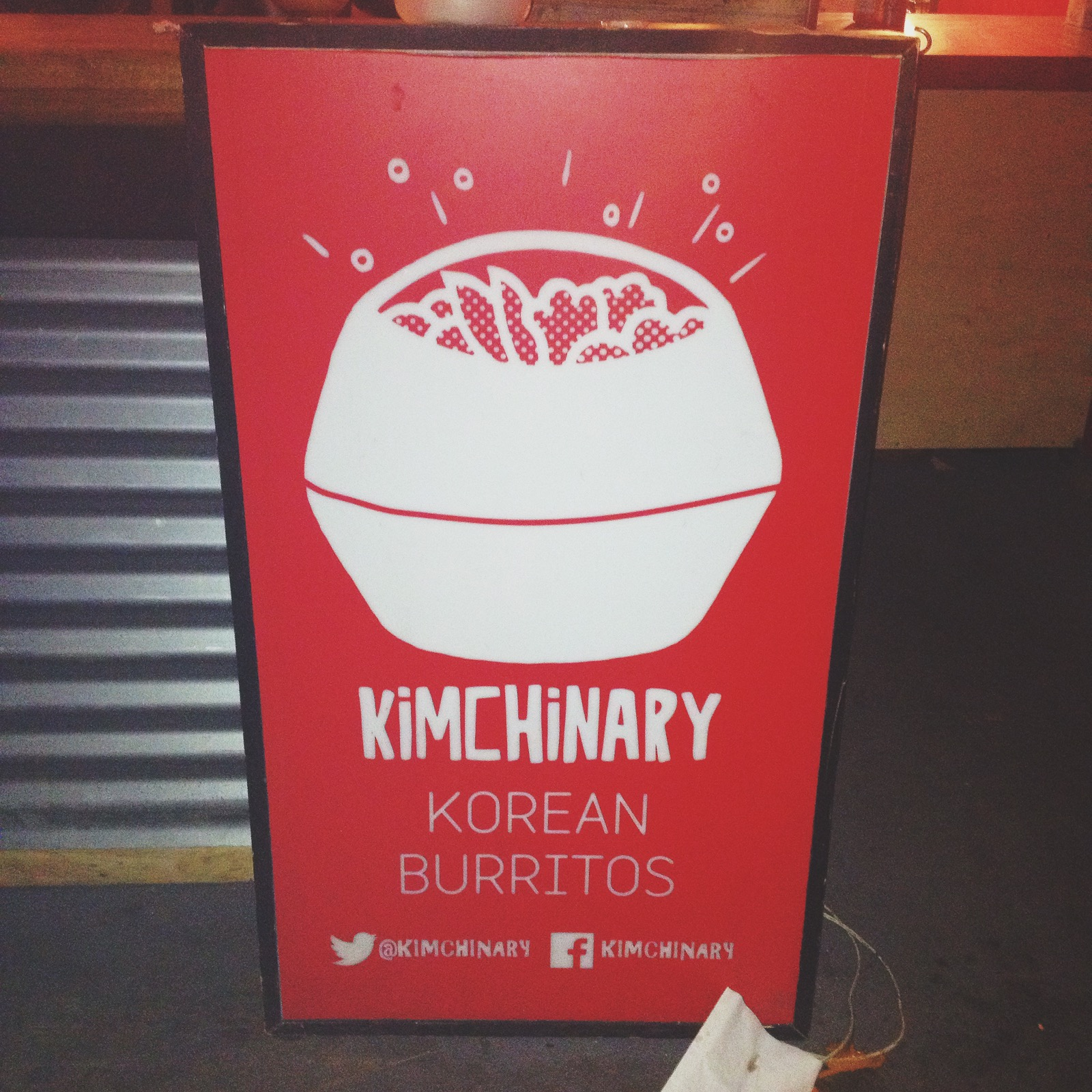 ...an incredible mix of Korean and Mexican cuisinefrom  Kimchinary