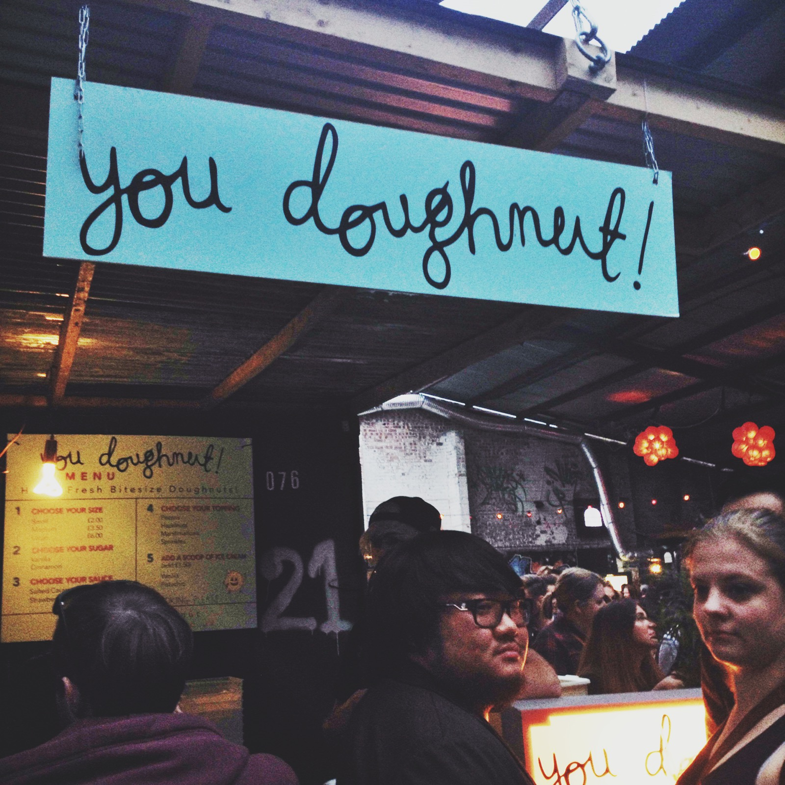 And donuts from  You Donuts fordessert of course!