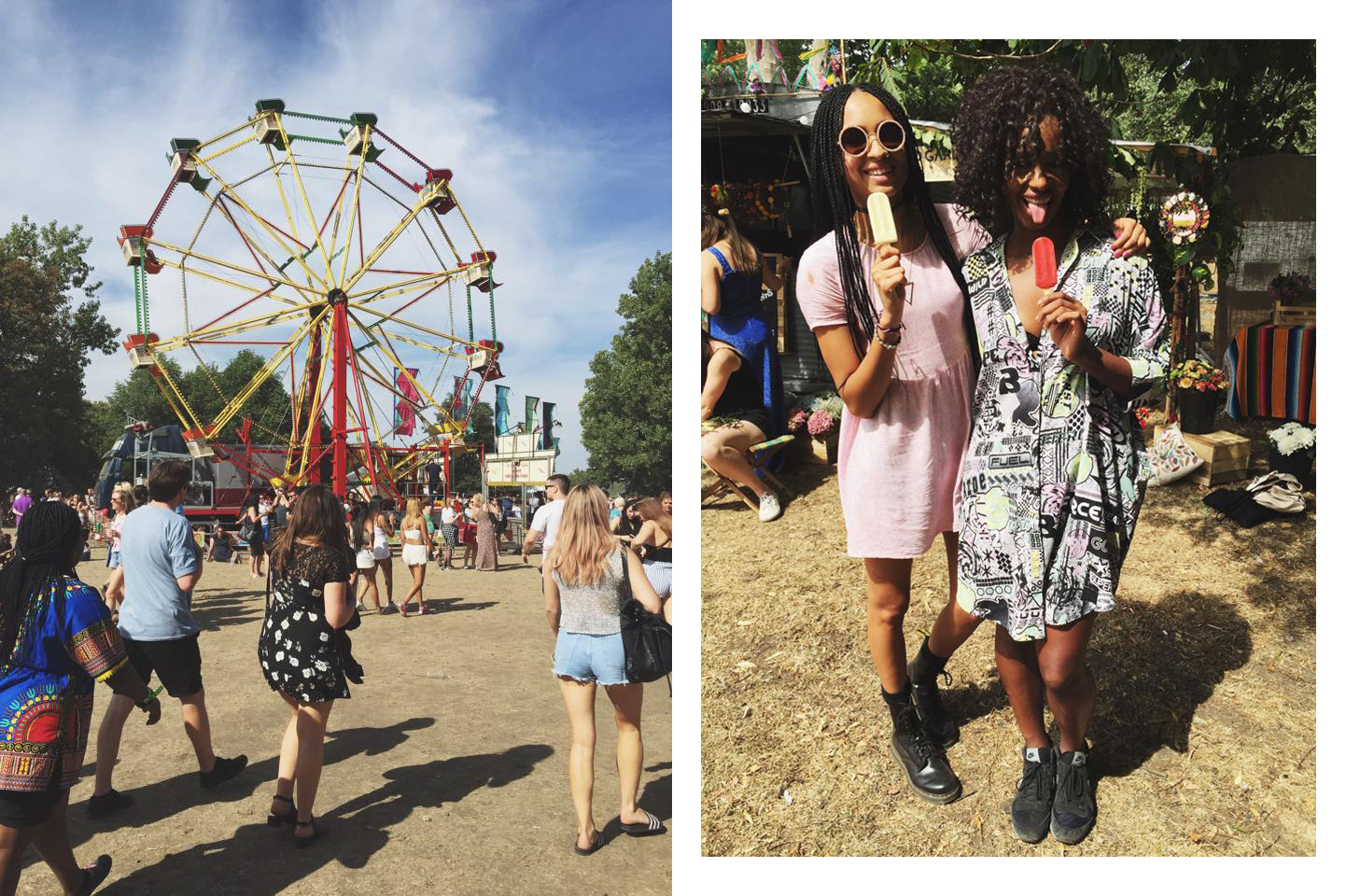 Funfairs and fashionistas!
