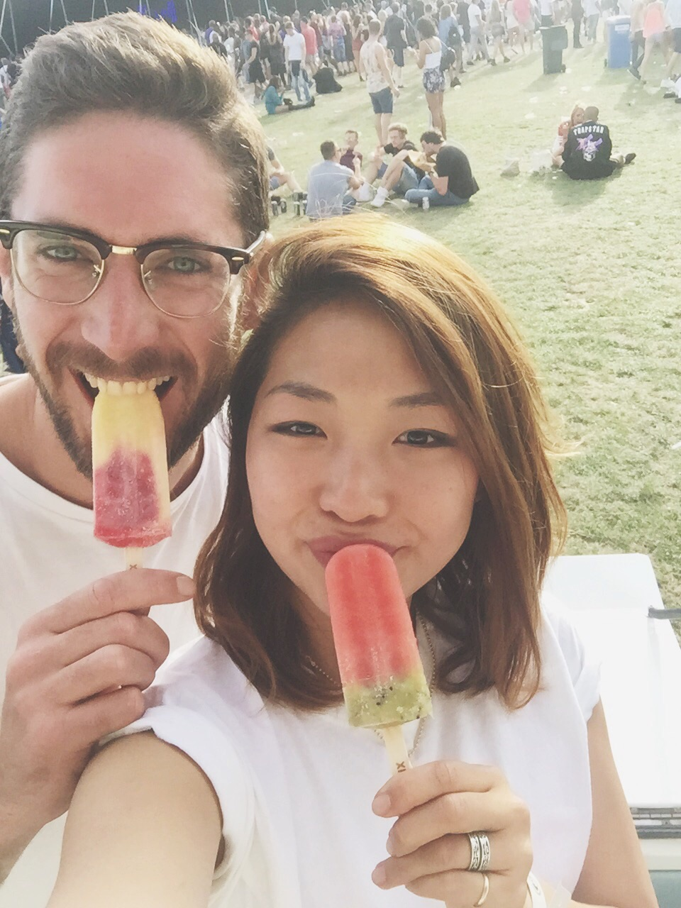 And of course eating some LICKALIXice lollies- mango/raspberry and watermelon/kiwi