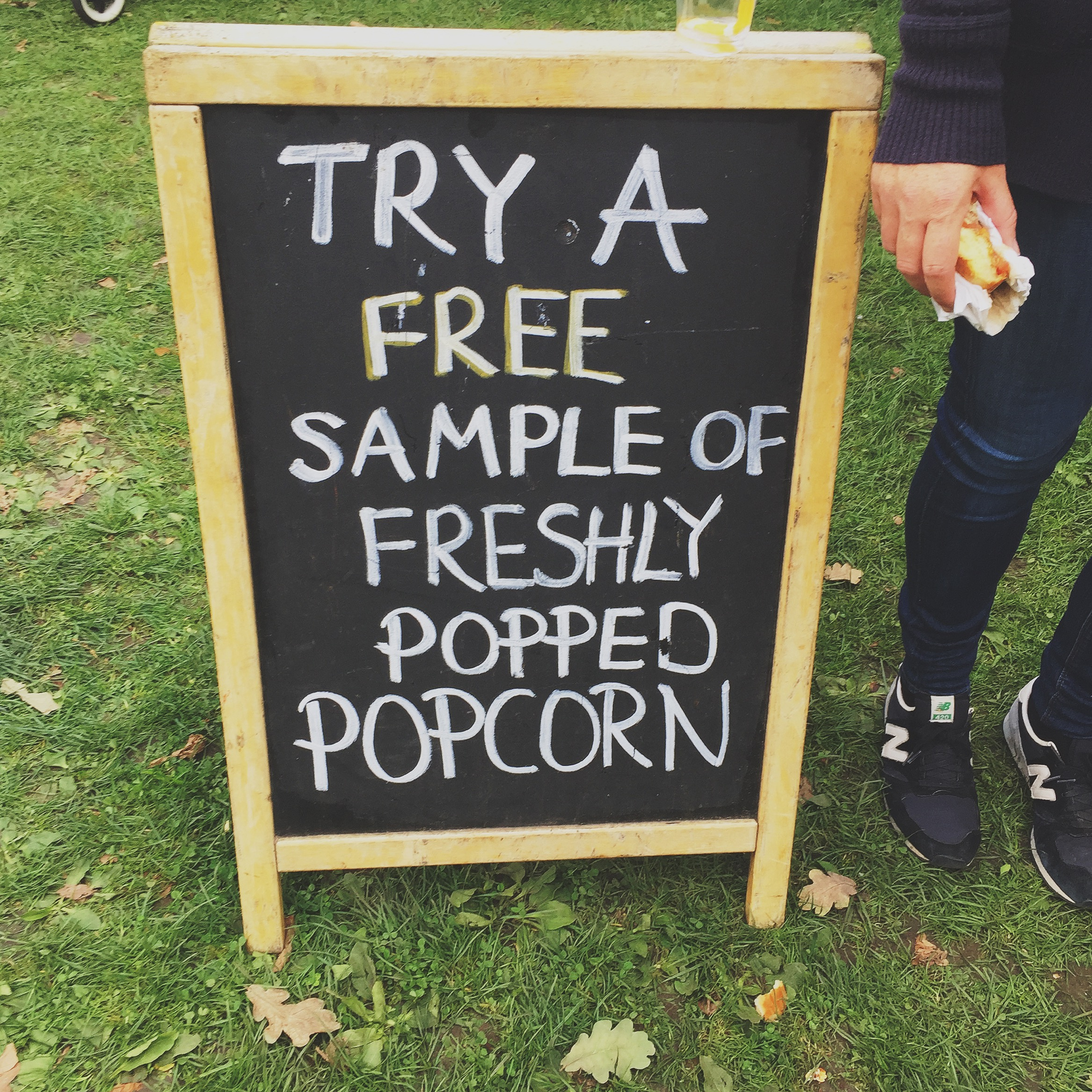 Free samples, yes please!