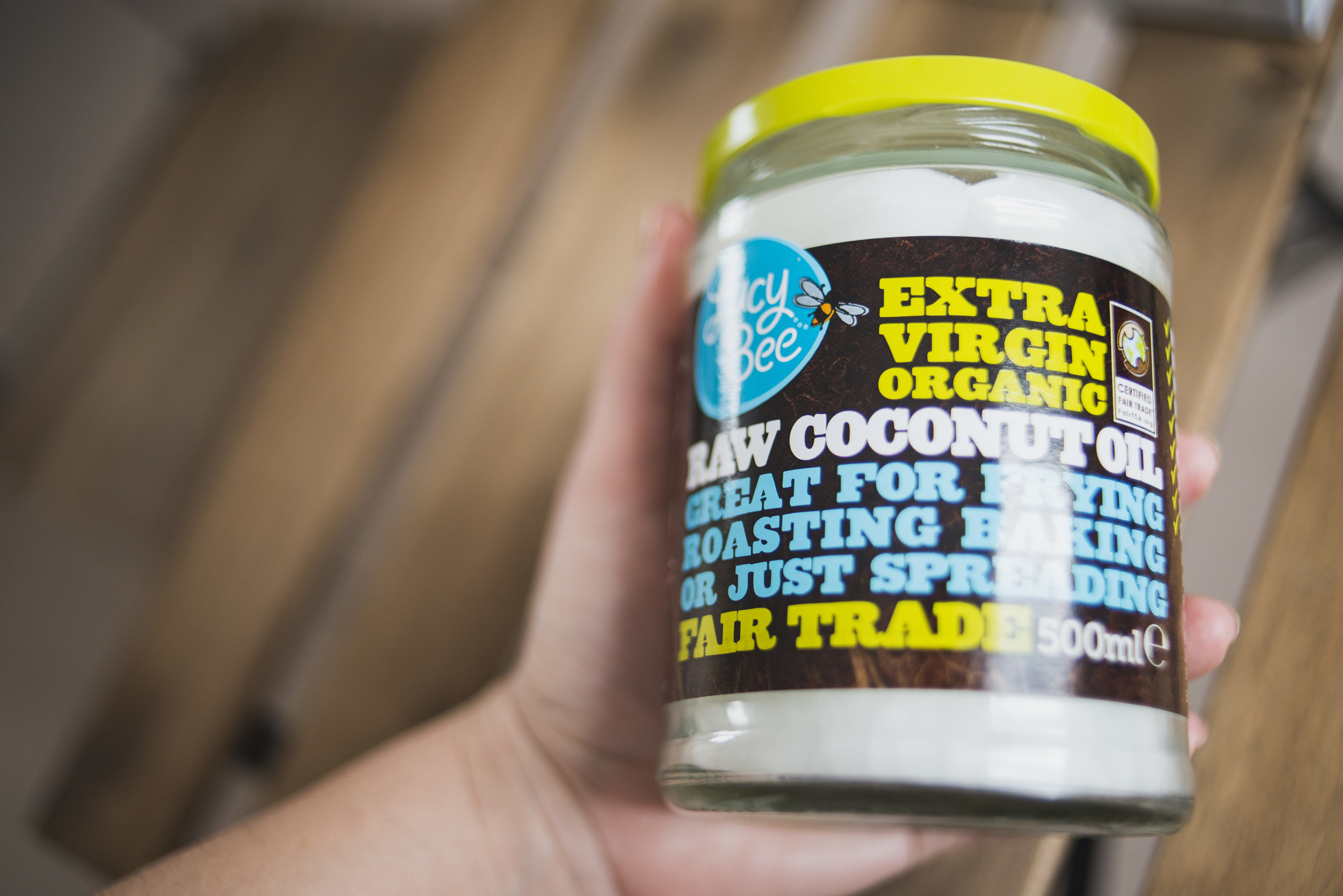 Lucy Bee Coconut Oil
