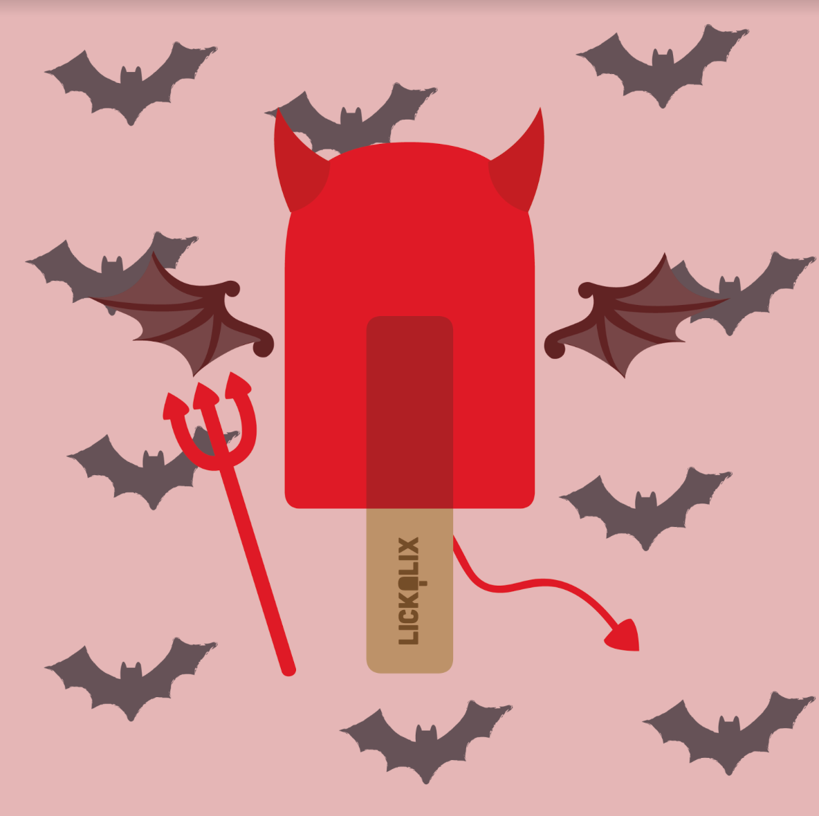 We dressed our loll icon up with a classic DEVIL costume! What do you think?