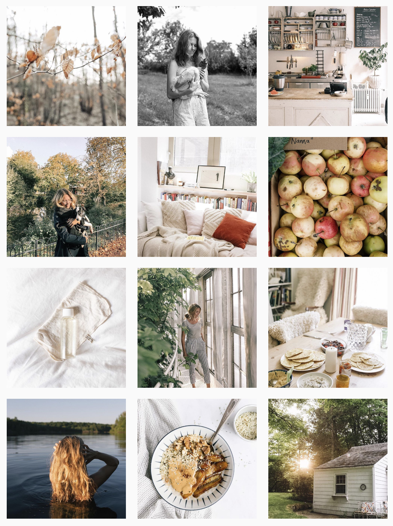 We are in AWE of Tania's feed. We love her minimalist lifestyle and the imagery she shares with the world… it's like we've stepped into a storybook!