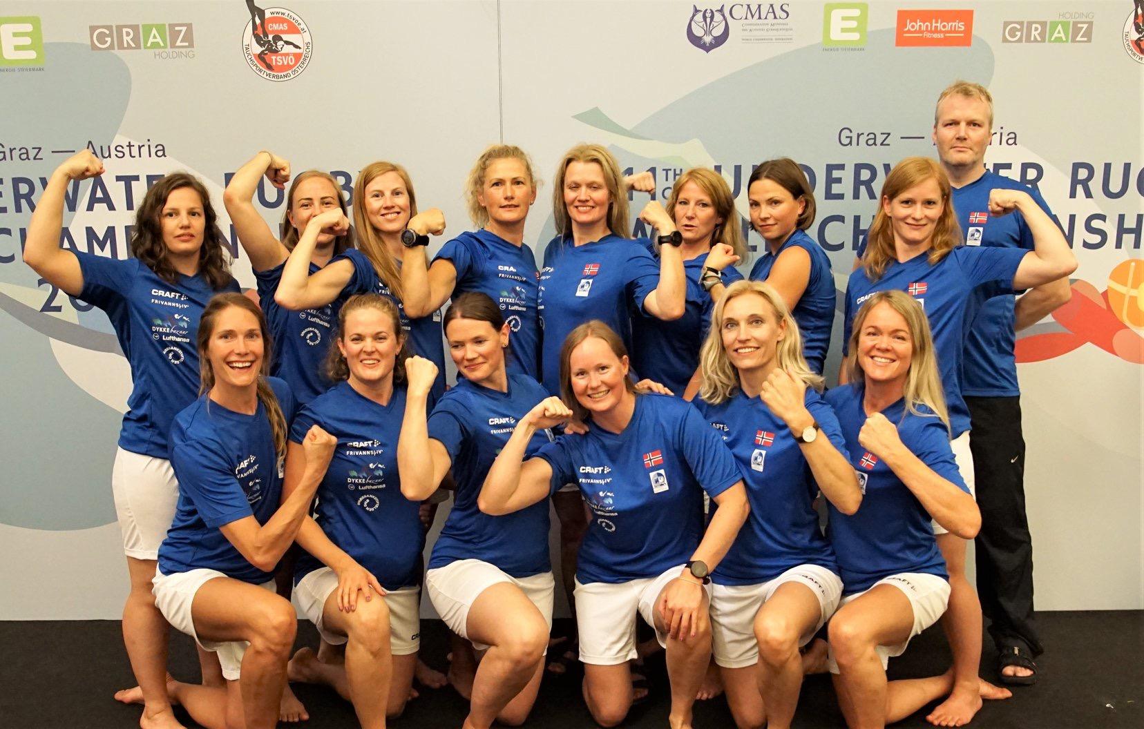 Offisielt lagbilde av kvinnelandslaget