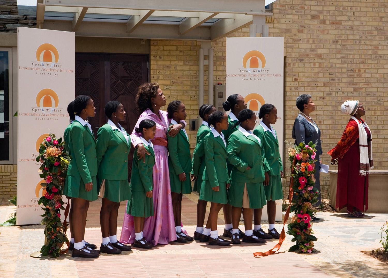 Opening of the Oprah Winfrey Leadership Academy for Girls Gauteng, South Africa
