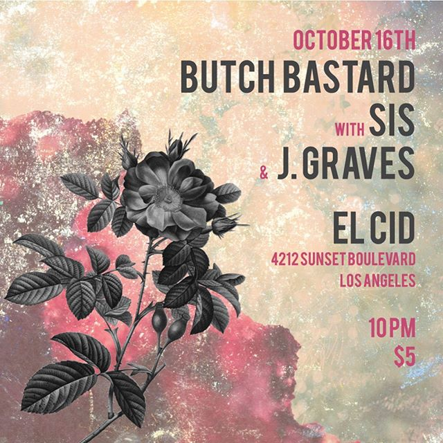 Sis plays two shows to close our their tour this week-Wednesday in LA at @elcidsunset and Thursday in SF at @amnesia_sf  @bandcalledsis