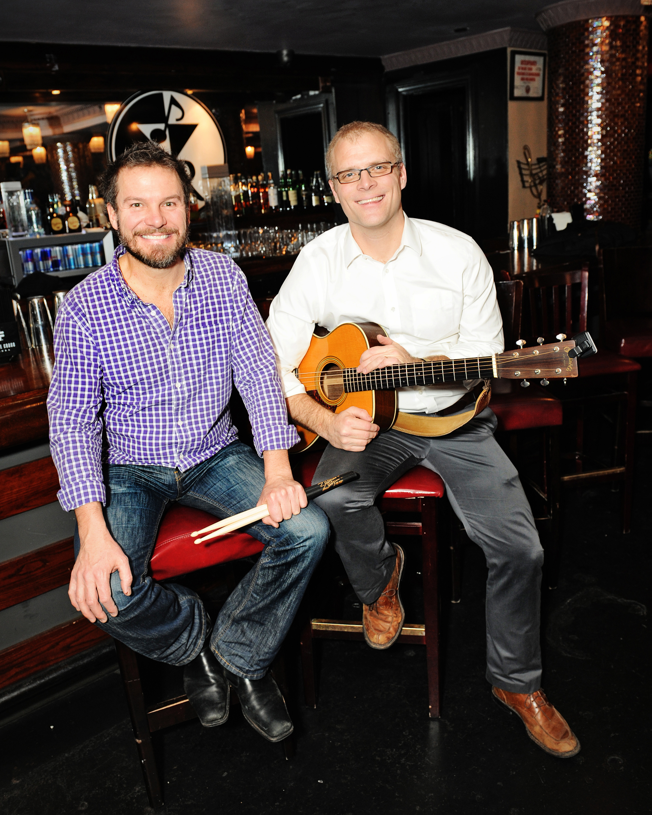 Scott and Jacob pre-show. Courtesy of g-gphoto.com