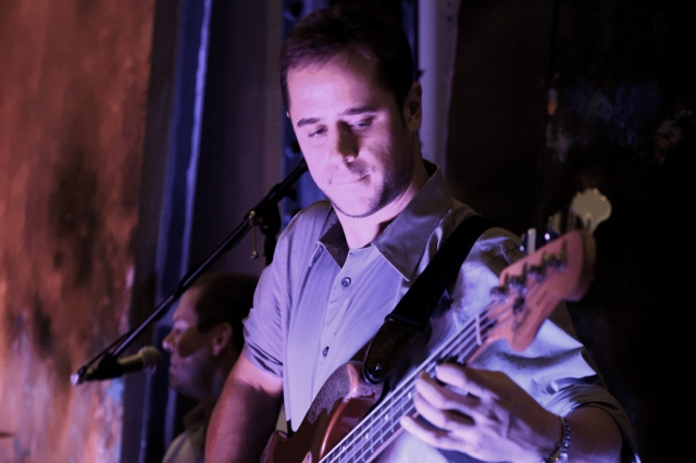 Colin (bassist extraordinaire). Photo courtesy of Darcy Demmel photography.