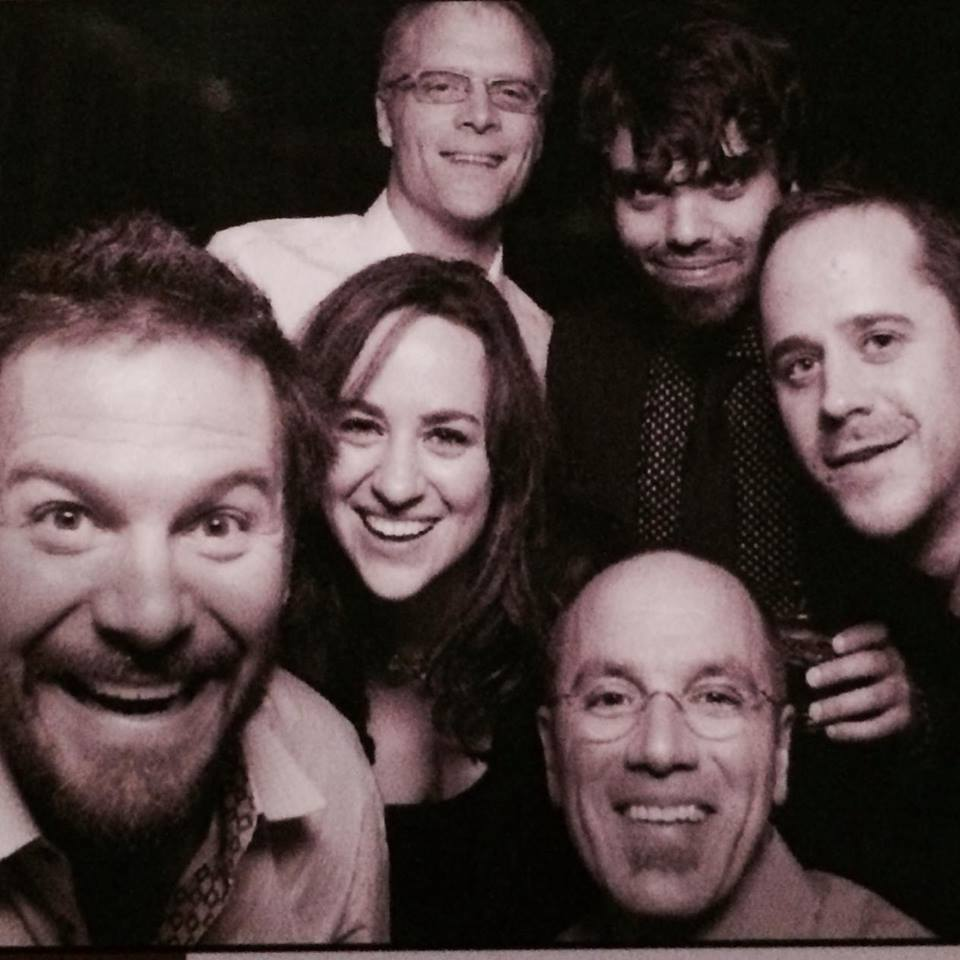 Pre show fun in the photo booth!