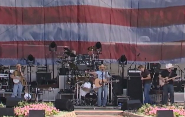UP masquerading as the Country Sky Band at Country Thunder USA. Yee Haw!