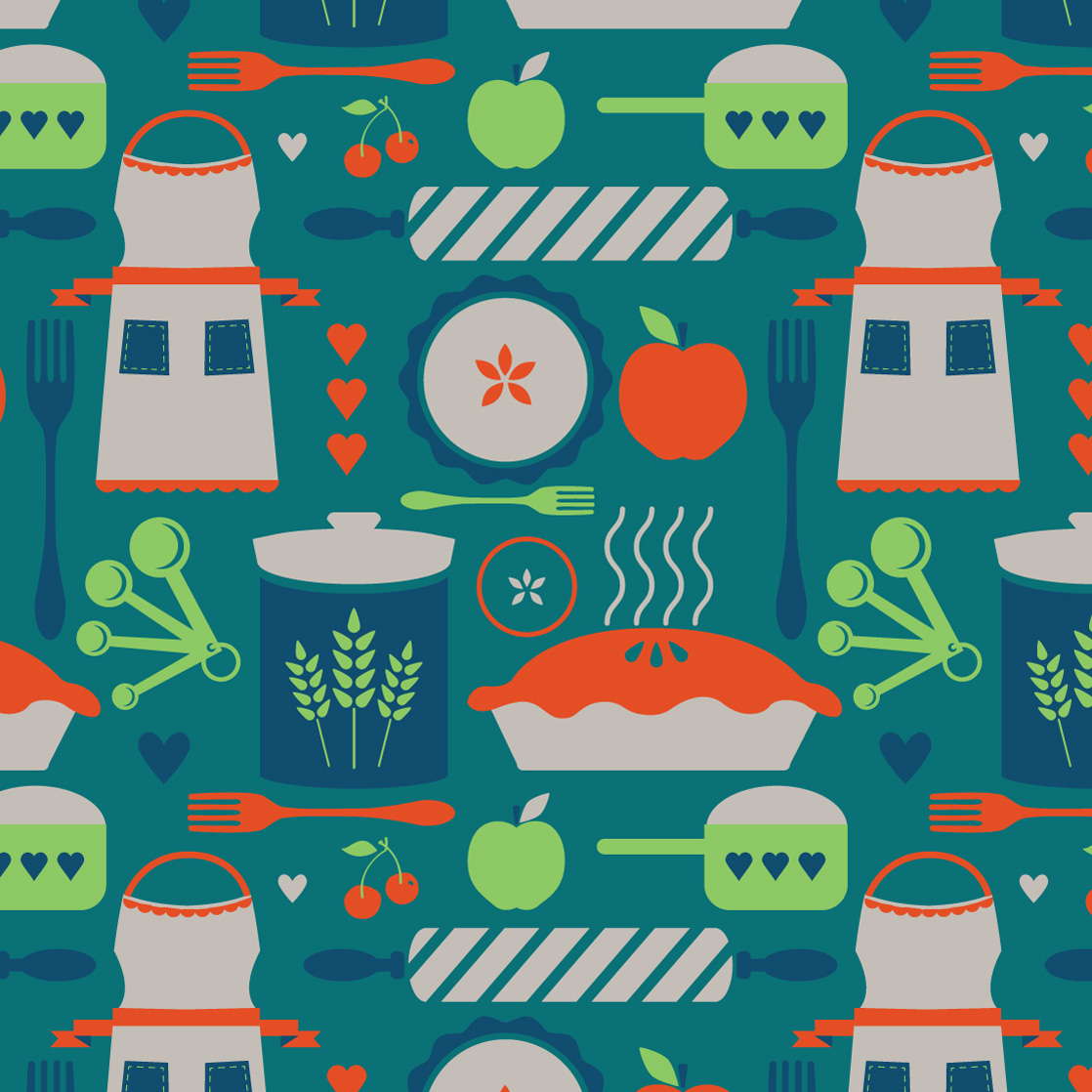 Owl Creek Kitchen - Pattern 1