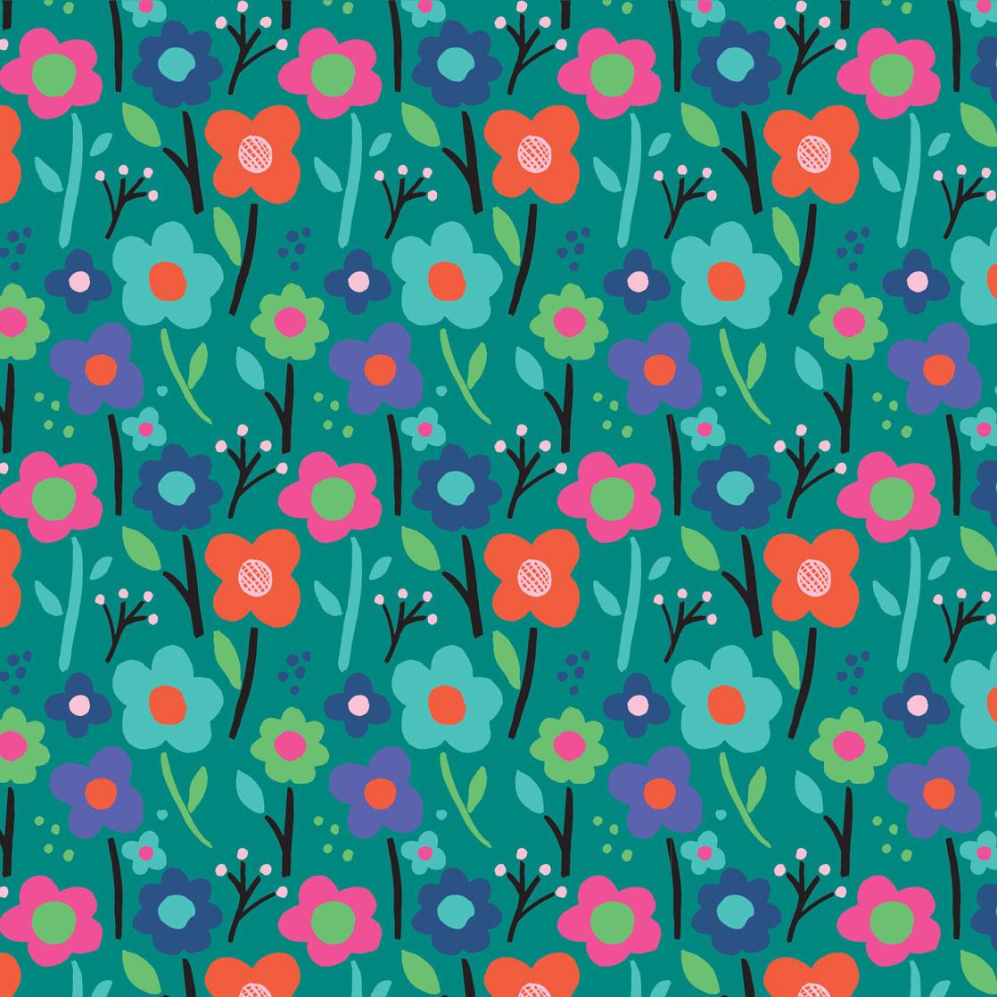 Pink & Inca Pattern 9