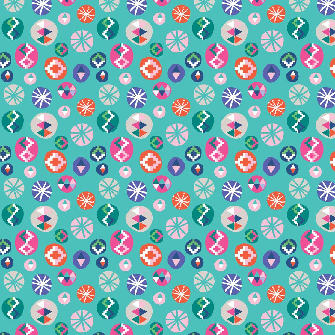Pink & Inca Pattern 10