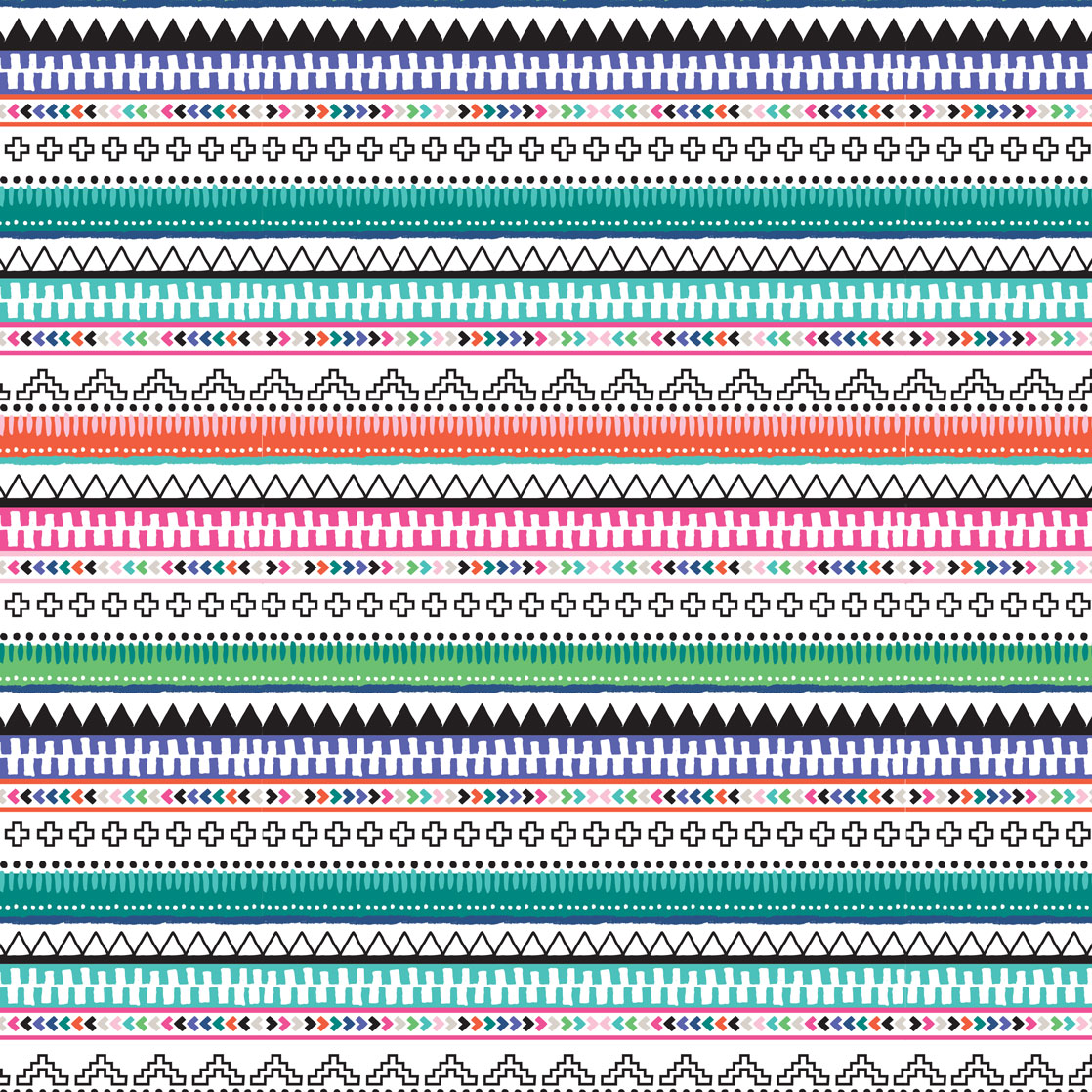 Pink & Inca Pattern 16