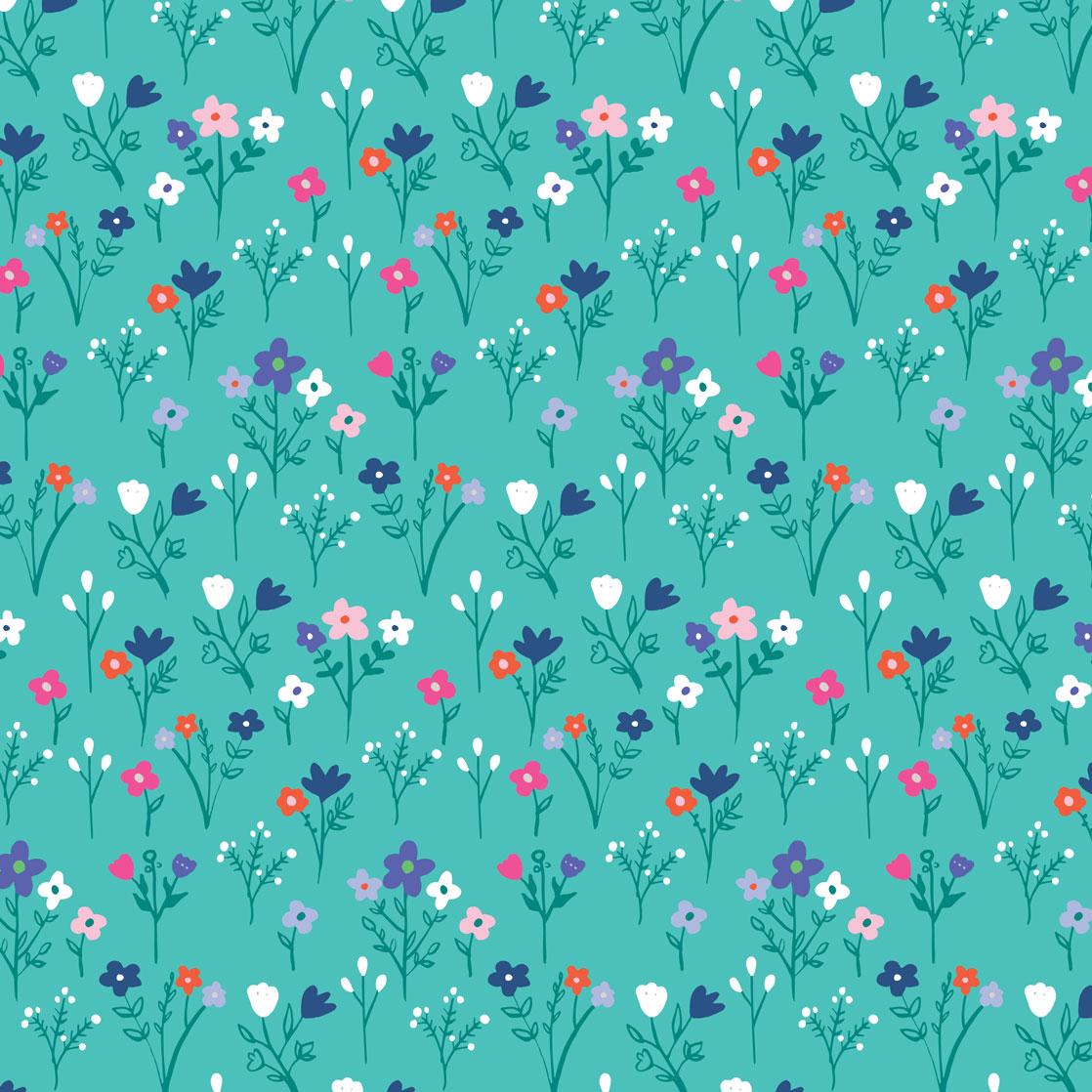 Pink & Inca Pattern 17