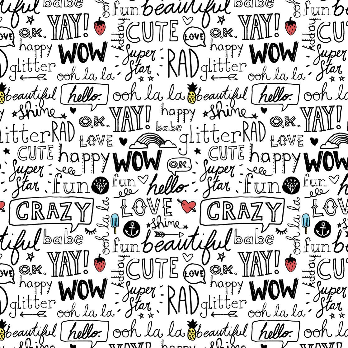 Happy Stuff - Pattern TWO-0001f