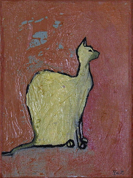 Egyptian Bad Cat- Sold