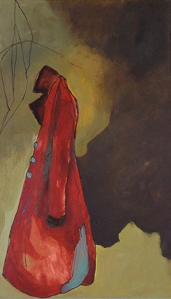 Red Coat- Sold
