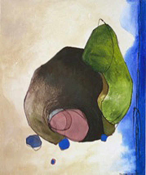 Leaf Blob- Sold