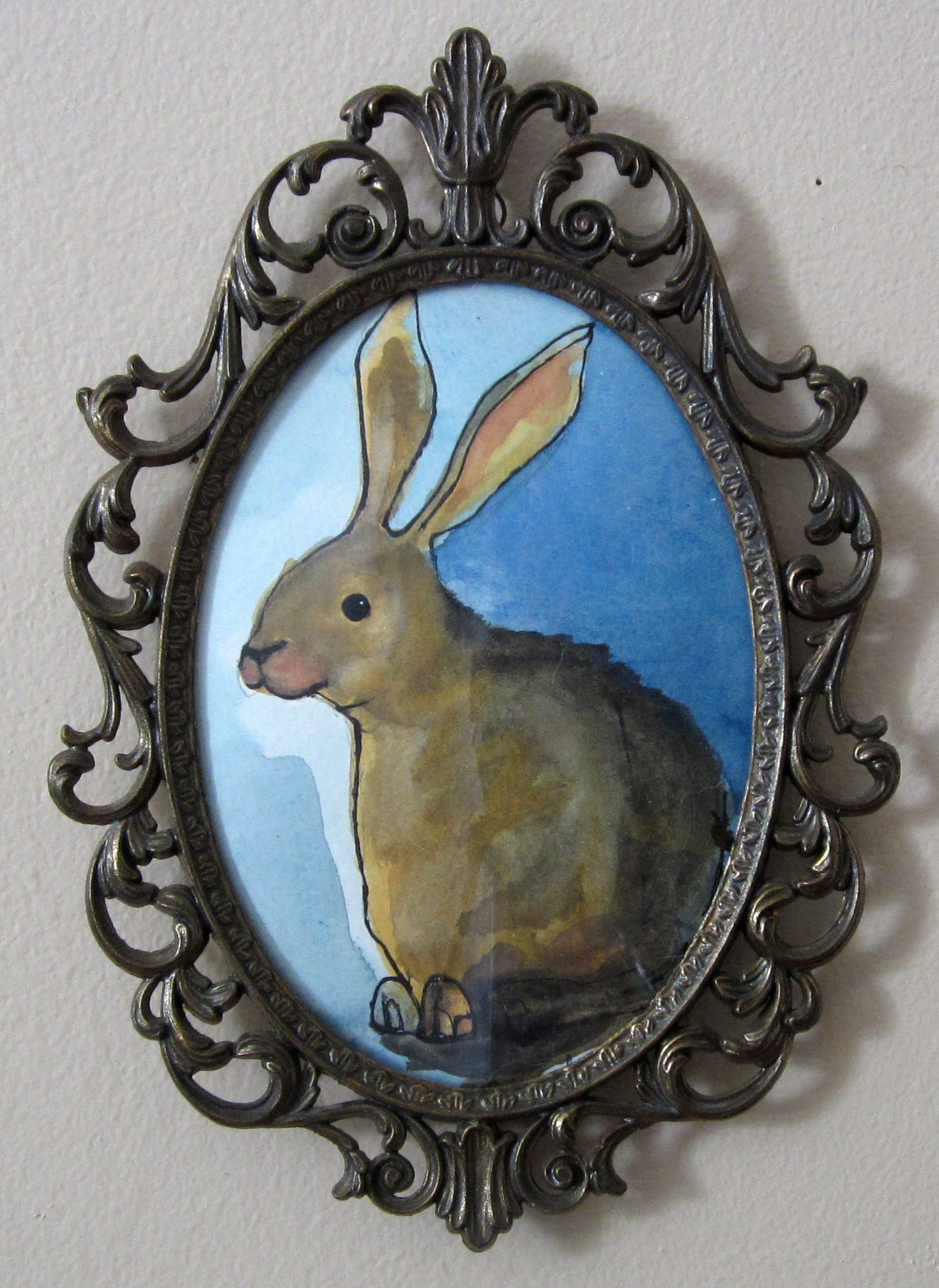 """11: Easter Bunny 6.5 x 10"""""""