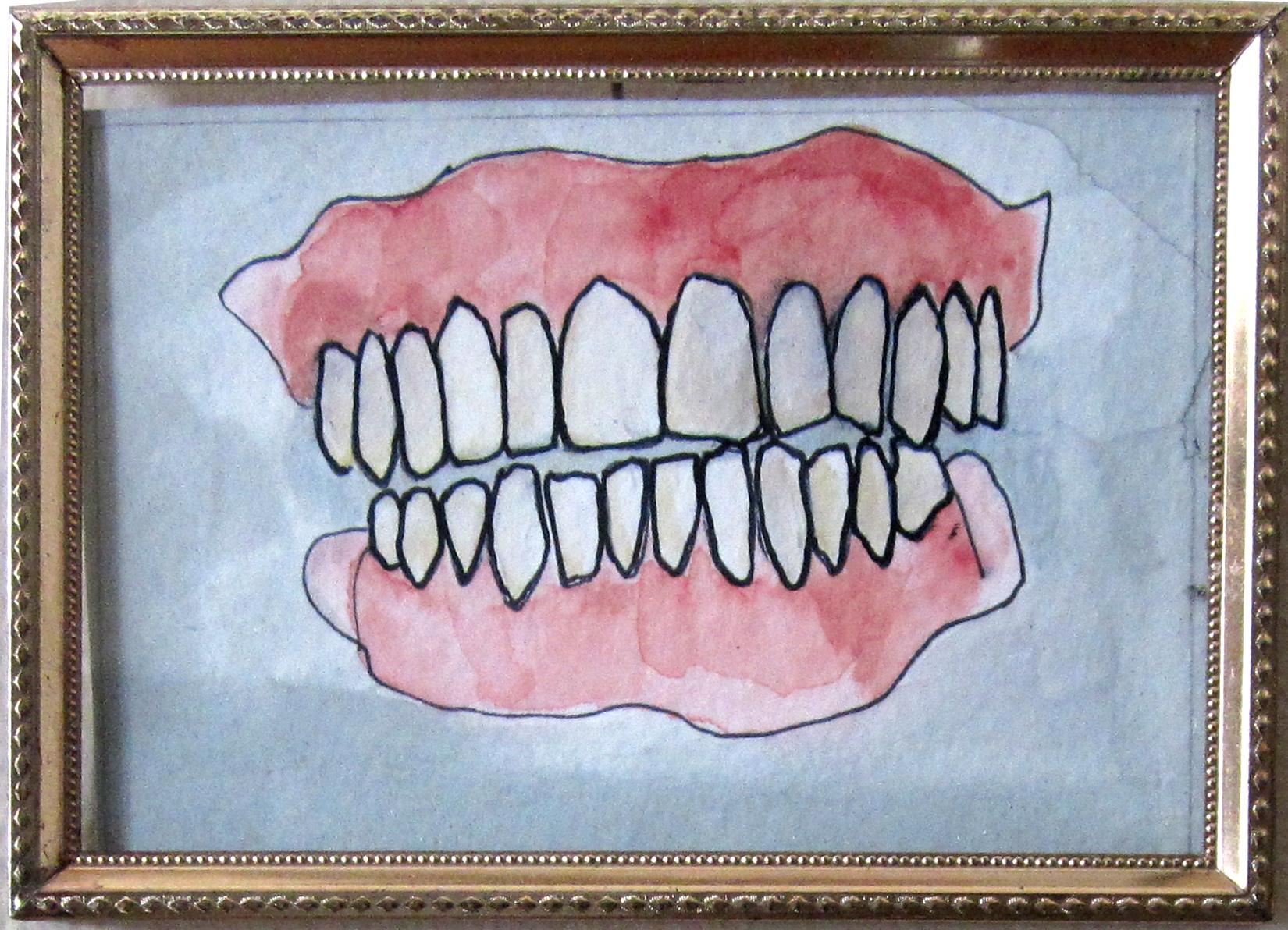 """12: Teeth Matter 5 x 3.5"""""""