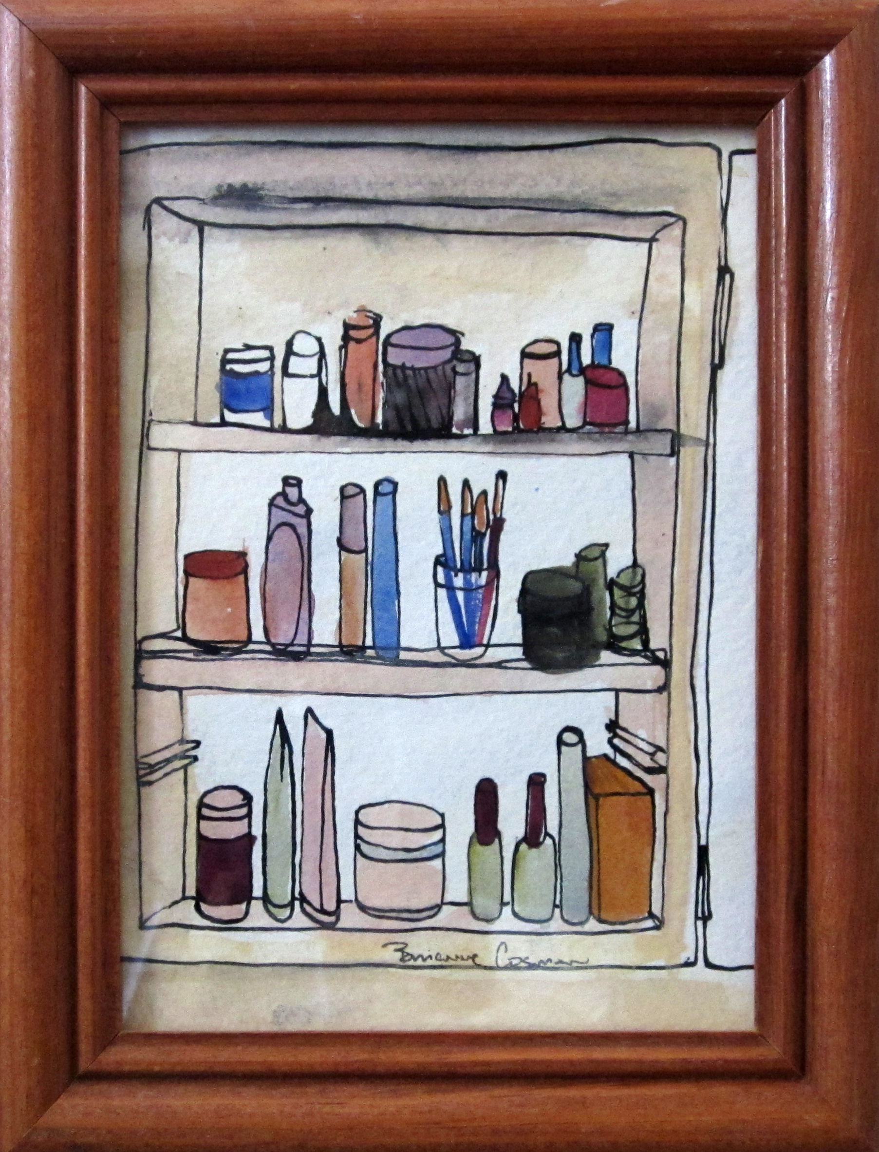 "45: Medicine Cabinet 6.5 x 8.5"""