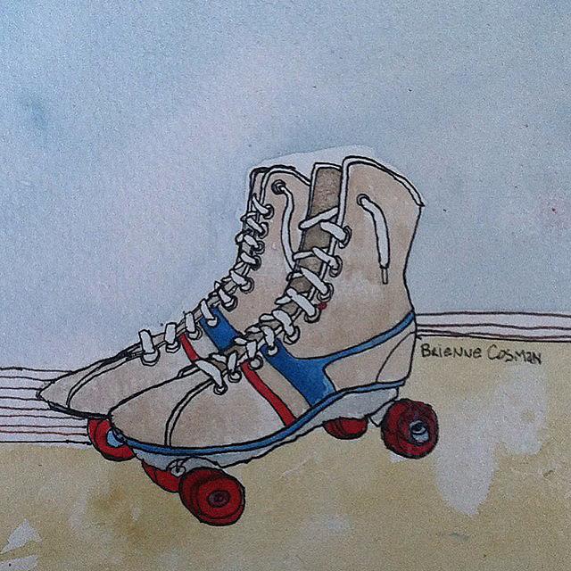65: Rollerskates- Sold