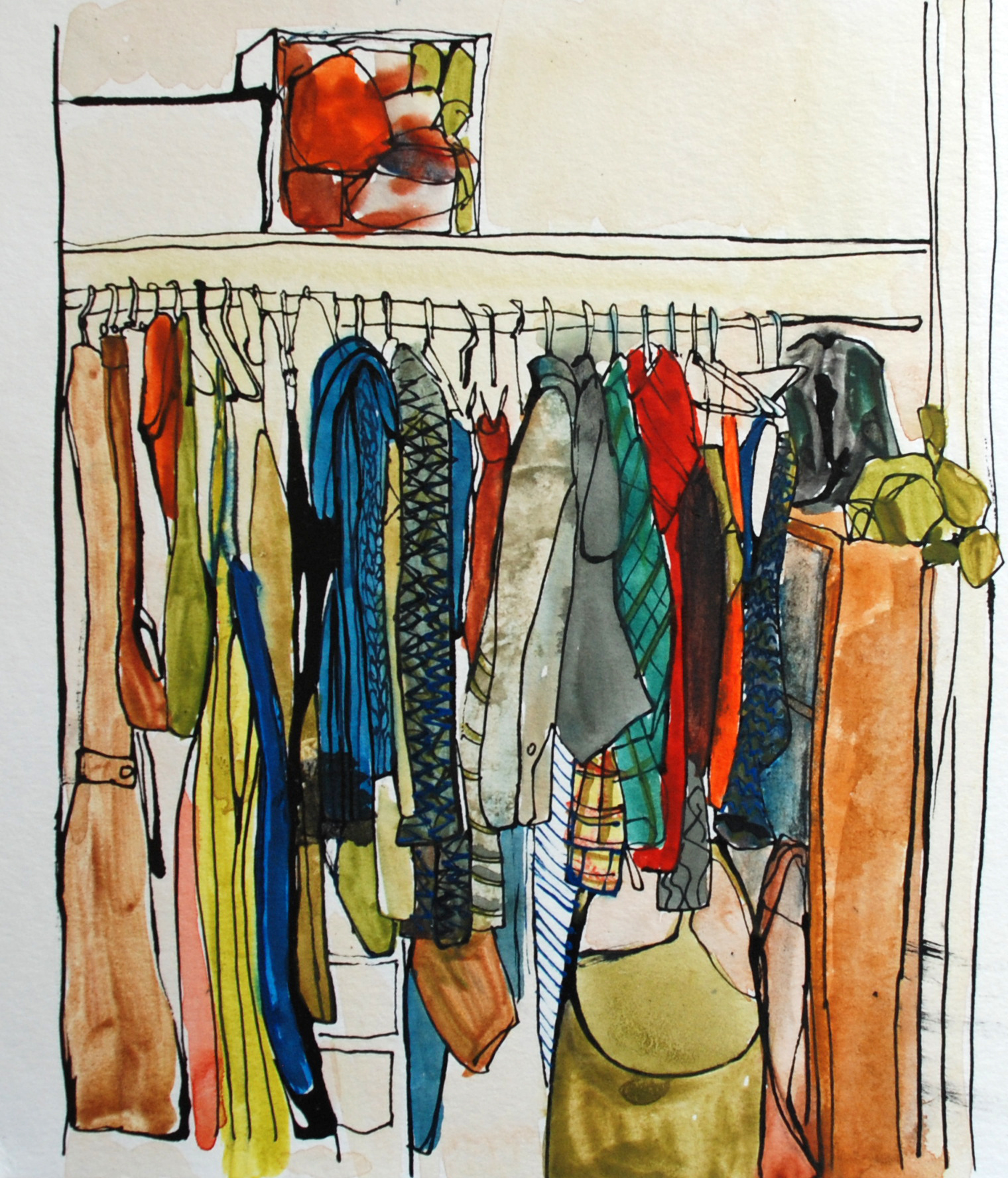 70: Arranging new closets- Sold