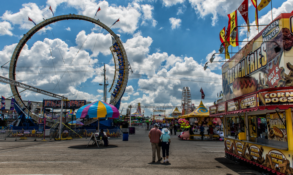 """""""The Midway"""" - Indianapolis, IN  USA"""