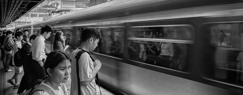 """""""Next Train"""" - Hong Kong, China"""