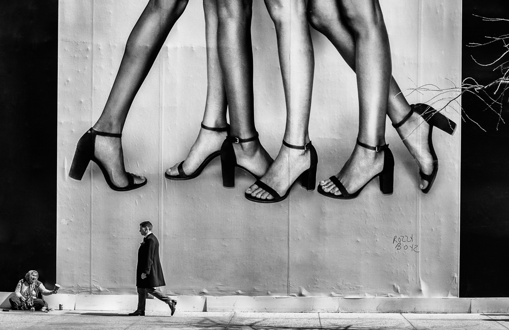 """""""Without A Leg To Stand On"""" - New York, NY   USA"""