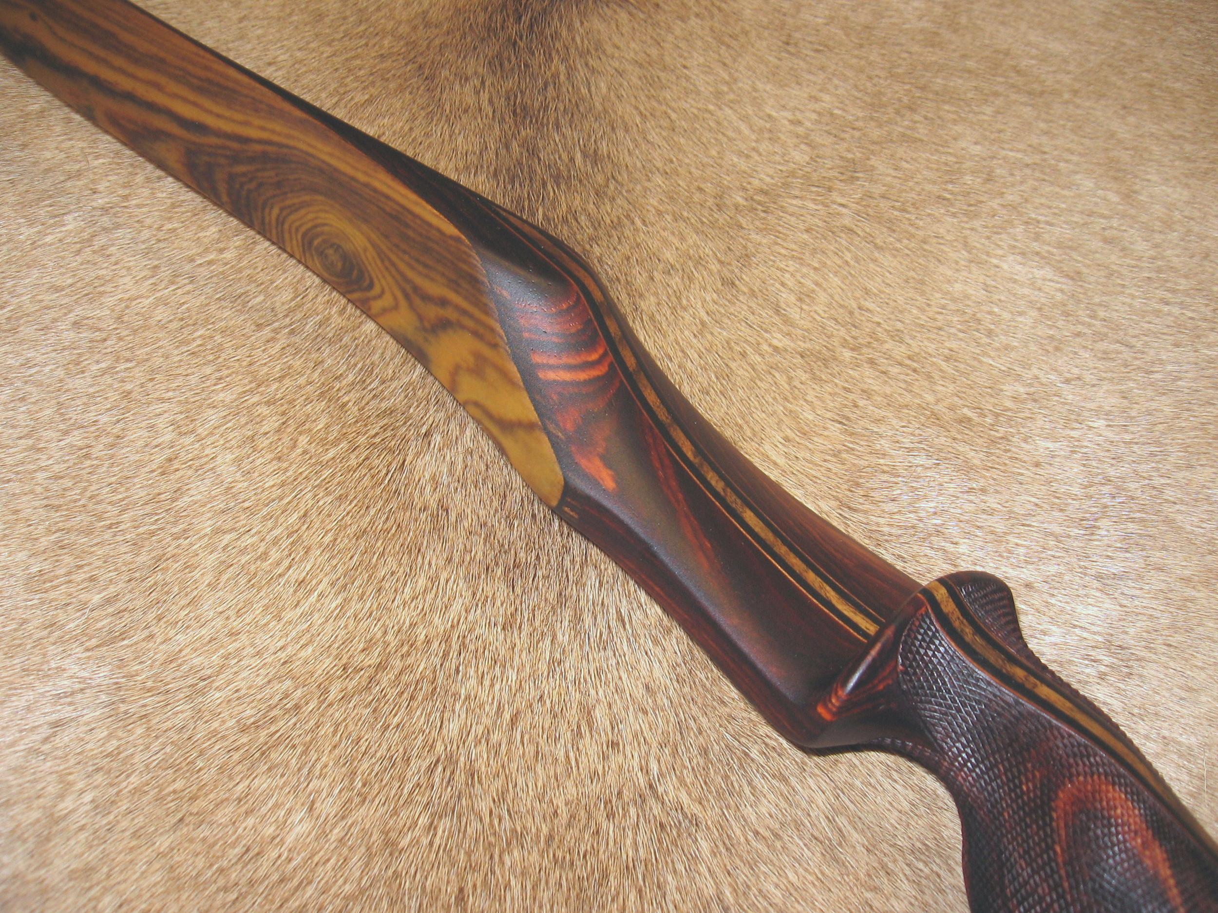 Cocobolo Handle/Bocote Limbs