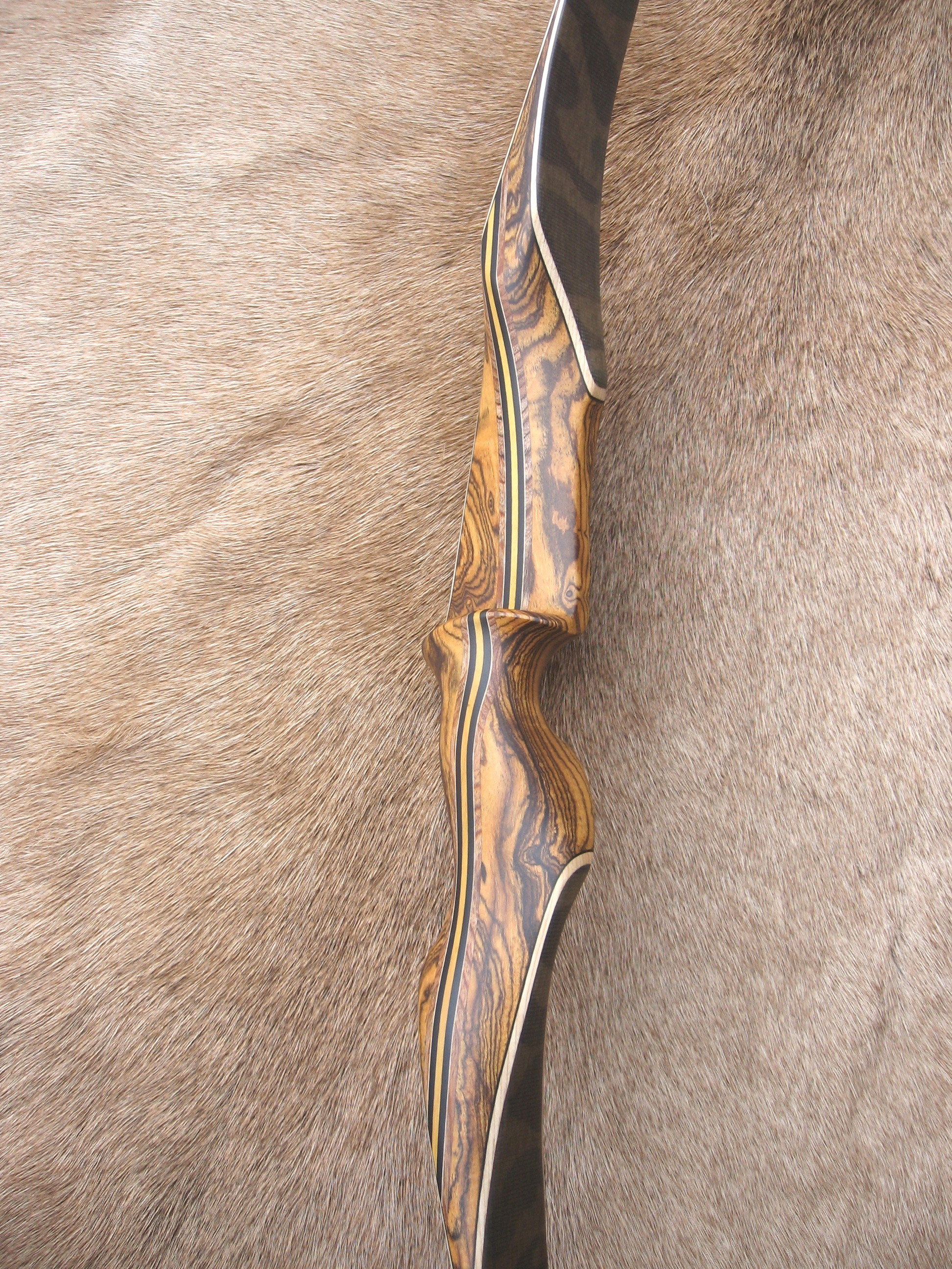 Bocote Handle/Camo Limbs